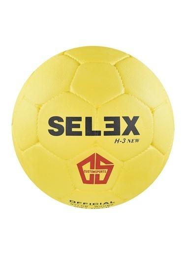 Selex H3 Kauçuk 3 No Hentbol Topu Sarı
